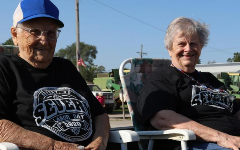 Served As Grand Marshals For Severy Labor Day Parade