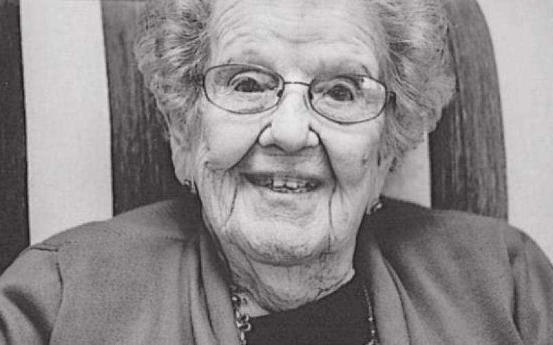 Hartsel Storrer To Celebrate 100th Birthday