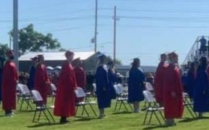 EJSHS Held Commencement On McGinnis Field
