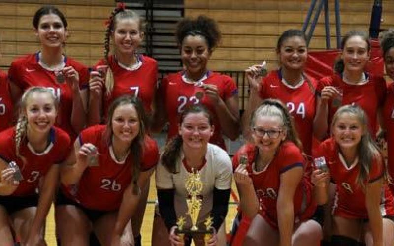 Lady Tornadoes Named Champions At Home Tournament