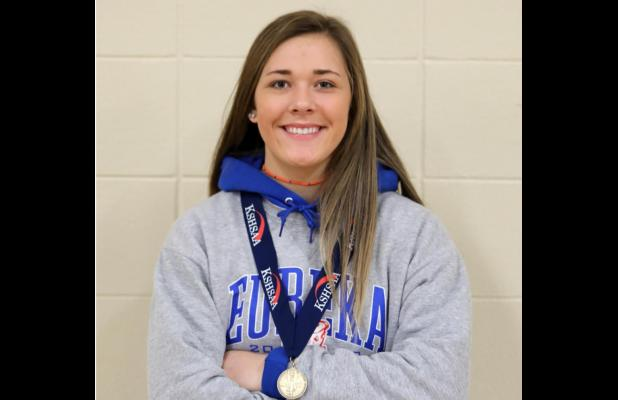 Claimed First Lady Tornado State Wrestling Medal