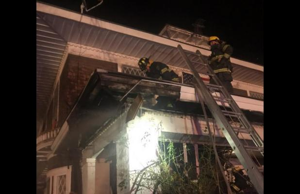 Eureka Home Damaged During Early Morning Fire