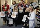 Annual Holiday Coloring Contest Held